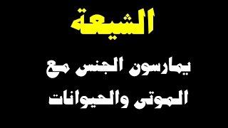 الشيعة يمارسون الجنس مع الموتى والحيوانات
