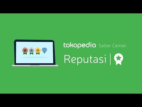 Tokopedia Seller Center - Reputasi Toko