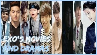EXO'S MOVIES AND DRAMA COLLECTION