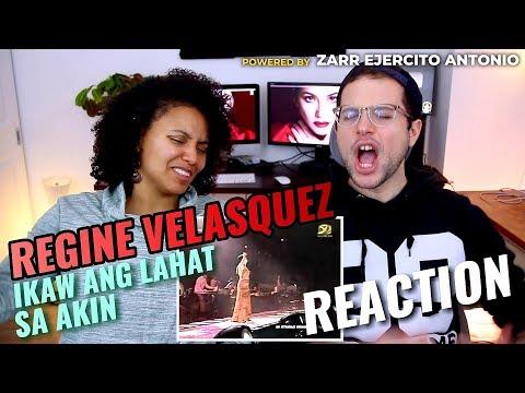 Regine Velasquez - Ikaw Ang Lahat Sa Akin | REACTION