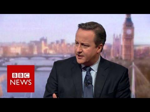 Cameron warns leaving EU is a step into the dark BBC News