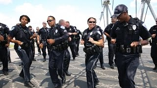 North Charleston Police Running Man Challenge