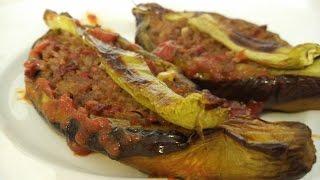 KIZARTMADAN FIRINDA KARNIYARIK (meat Eggplant)