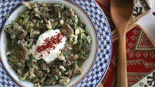 Sokonov Apoor - Mushroom Soup Recipe - Armenian Cuisine - Heghineh Cooking Show