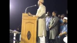 asaduddin owaisi latest speech 12.5.2016 in tamilnadu