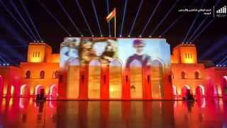 مظاهر احتفالات العيد الوطني 45 بتقنية التايم لابس - Time lapse