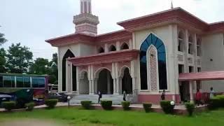 Beautiful mosque in Bangladesh from university IIUC
