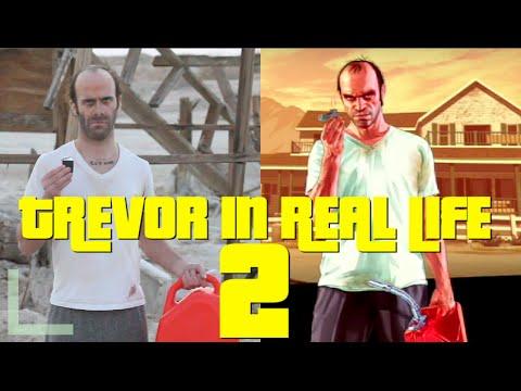 Trevor in Real Life 2 GTAV Prank