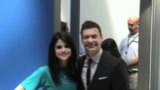 ryan seacrest and selena gomez launches the voice in philadelphia july 15 2011