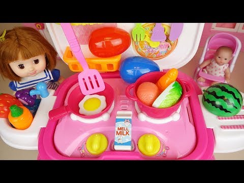 Xxx Mp4 Baby Doll Food Cooking Kitchen And Surprise Eggs Baby Doli Play 3gp Sex