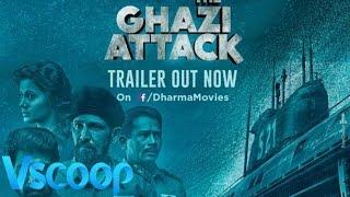 The Ghazi Attack Hindi Official Trailer | Rana Daggubati, Taapsee Pannu #Vscoop