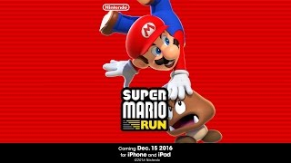 Introduction to Super Mario Run