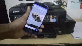 Epson L655 printer while printing