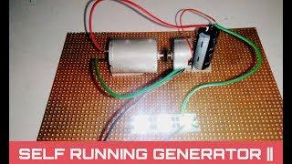Free energy light bulb | self running generator using capacitor