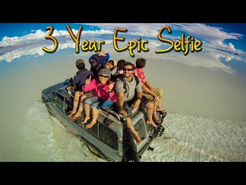 Around the World in 360° Degrees 3 Year Epic Selfie