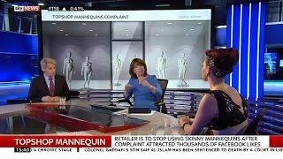 'Unrealistic' Topshop Mannequins Debate: Natasha Devon & Milo Yiannopoulos