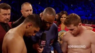 The Fight Game: Canelo-Khan Look Back (HBO Boxing)