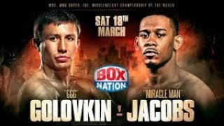 Gennady Golovkin vs Daniel Jacobs  HD Completa Full fight
