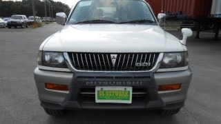 Stock No.2156 MITSUBISHI CHALLENGER XR Super select 4WD 1997