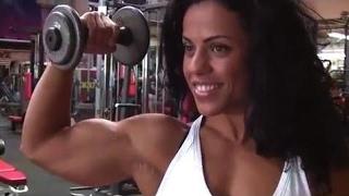 Mavi Gioia charming italian girl with stunning biceps part3