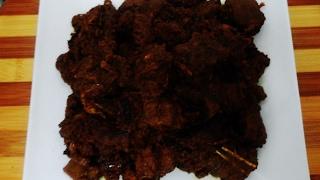গুরুর মাংস  কালো ভুনা রেসিপি Best and easy way to cook dark beef curry