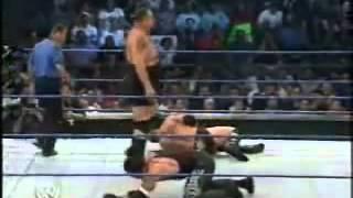 WWE SmackDown :Brock Lesnar vs Underaker vs Big Show part 1/2