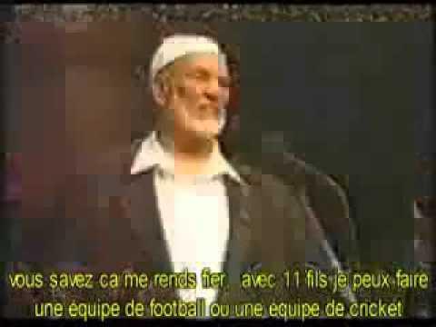 Ahmed Deedat Pourquoi les femmes doivent porter le voile Hijab Vostfr YouTube