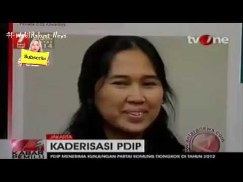 Mungkin HOAX, PDIP Kirim Kader Untuk Belajar Ke PARTAI KOMUNIS CINA