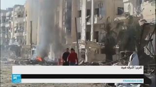 """النظام السوري يقصف مواقع المعارضة ويتقدم على حساب تنظيم """"الدولة الإسلامية"""" في شمال البلاد"""