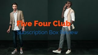 $60 a Month, Quality Clothes Delivered to Your Door | Five Four Club Review