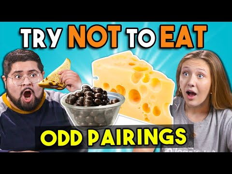 Try Not To Eat Challenge Odd Food Pairings