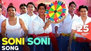 Soni Soni - Song | Mohabbatein | Shah Rukh Khan | Uday Chopra | Jugal Hansraj | Jimmy Shergill