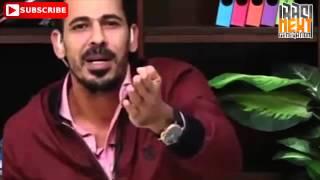 السفاح يونس محمود باسلوب ساخر  اشرب نركيلة  تفاحتين    قبل كأس اسيا 2015