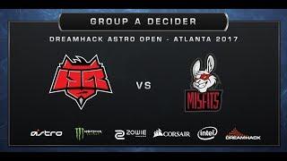 CS:GO - HellRaisers vs Misfits - Overpass - DreamHack ASTRO Open Atlanta 2017