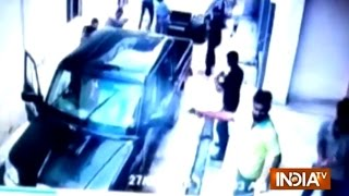 Rajasthan Gangwar Between Two Criminal Groups Caught on CCTV in Pali