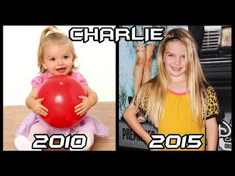 Buena Suerte Charlie Antes y Después 2015