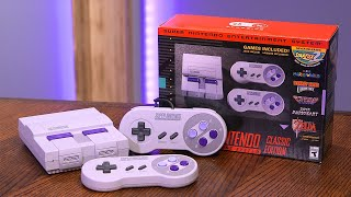 SNES Classic Unboxing and First Impressions