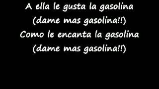 Gasolina lyrics.............!!!
