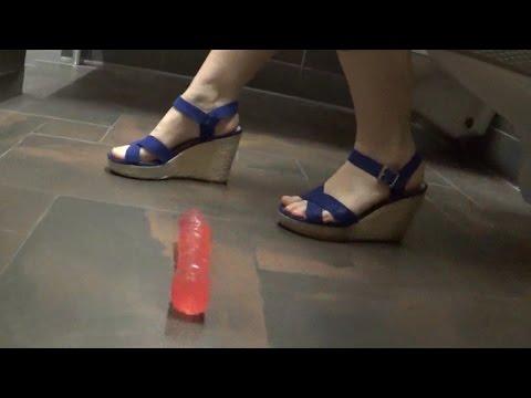 Dropping Dildos in GIRL'S Bathroom Prank! ( AlyssaBeCrazy )