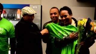 Eritrean Wedi Tikabo's Arrival At SFO