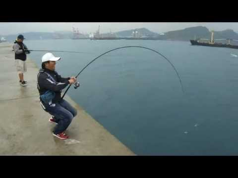 Shore Jigging Taiwan 東堤 打魚蓋流哥第一� �