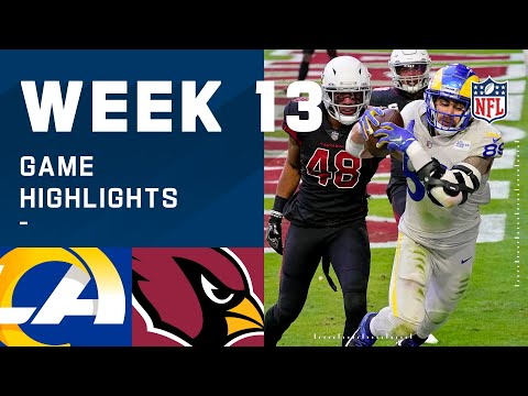 Rams vs. Cardinals Week 13 Highlights NFL 2020