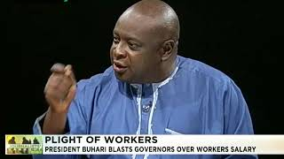 Journalists' Hangout 18th October 2017 | Buhari blasts governors over Workers Salaries