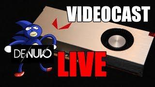 Videocast AO VIVO: mexendo nos BIOS das Vega e Sonic com Denuvo