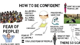 HOW TO BE CONFIDENT - Nouman Ali Khan Animated
