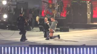 Wrestlemania 29 - CM Punk played to the ring by Living Colour