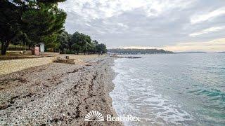 beach Zelena Laguna, Poreč, Croatia