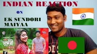 Indian Reaction|Ek Sundori Maiyaa | Jisan Khan Shuvo|Official Video/ KrishnenduDas