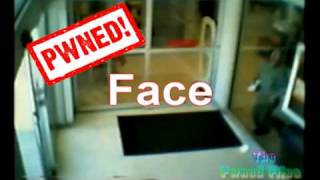 Guy walks into glass thinking its the door!