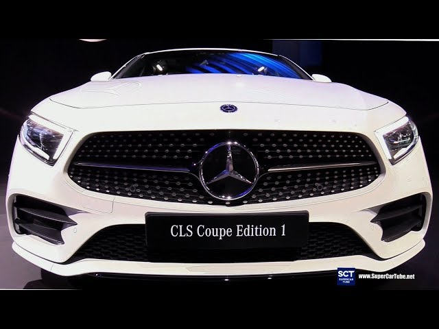 2019 Mercedes CLS Class CLS Coupe - Exterior Interior Walkaround - Debut at 2017 LA Auto Show